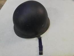 Neuf De Stock ! Casque Lourd Acier Belge Modèle 1962 ( Gendarmerie Ou Maintien De L'ordre ) Type M1 - Casques & Coiffures