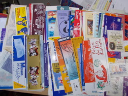 COUVERTURES CARNETS VIDES Couverture Carnet Vide IDEAL ALBUM Commemo Croix Rouge Pers. Celebres J. Du Timbre Marque Page - Booklets