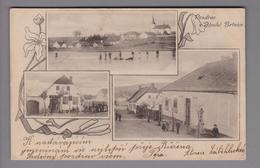 AK Tschechien Dlouka Brtnice 1903-03-26 Fotokarte - Tchéquie