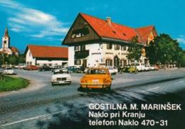 Naklo Pri Kranju - Gostilna Marinsek , Opel Manta - Slovenia