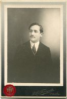 RETRATO DE HOMBRE, PORTRAIT D'HOMME, PORTRAIT OF MAN. FOTO ANTIGUA OLD PHOTO AÑO 1911 - LILHU - Fotos