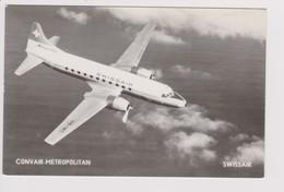 Vintage Rppc Swissair Convair 340 Aircraft - 1919-1938: Between Wars