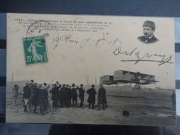 LEON DELAGRANGE A BORD DE SON AEROPLANE N° 3 - Airmen, Fliers