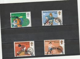 Grande Bretagne Oblitéré  1981  N° 1003/1006  25 Ans Du Prix Du Duc D'Edimbourg - Used Stamps