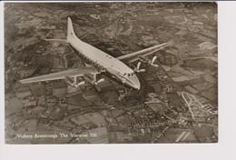 Rppc Vickers Armstrong Viscount 700 BEA B.E.A. British European Airways Aircraft - 1946-....: Modern Era