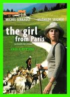 AFFICHES DE CINÉMA - FILM, THE GIRL FROM PARIS - MICHEL SERRAULT & MATHILDE SEIGNER - - Affiches Sur Carte