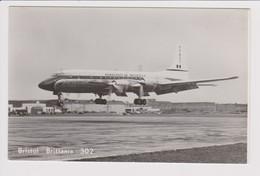 Vintage Rppc Aeronaves De Mexico S.A. Bristol 302 Britannia Aircraft - 1946-....: Modern Era