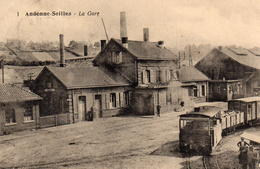 CPA Belgique Namur Andenne-Seilles La Gare - Andenne