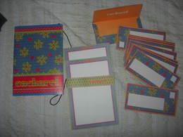 Papier à Lettres ( 8 Feuilles ) + 10 Enveloppes CACHAREL_Frais De Port : Tarif Lettre 100 Grs. - Non Classés
