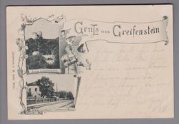 AK AT Niederösterreich Greifenstein 1898-04-30 Foto M.Jaffé - Autriche