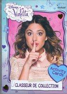 Disney Violetta Activity Cards Classeur De Collection + 18 Cartes - Disney