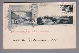 AK AT Steiermark Platsch B.Ehrenhausen 1898-09-10 Foto Joseph Laminger - Autriche