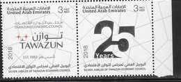 UAE, 2018, MNH, TAWAZUN ECONOMIC COUNCIL,2v - Stamps
