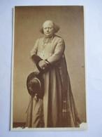 Photographie Ancienne CDV Albumen 1860 - Monseigneur Patrice CRUICE  Evêque De Marseille De 1861 à 1865 - Dos Muet   BE - Alte (vor 1900)