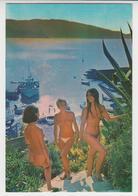 BO 031 /  ILE  DU  LEVANT / NATURISME / Nu Nude Desnudo Nudo Nacktes ,  Contre - Jour  Sur Le Port  D' Héliopolis - Hyeres