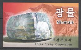 North Korea, 2002. [02-1] Minerals (booklet) - Minerals