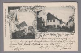 AK AT Kärnten Schiefling Im Lavantthal 1900-07-18 Foto # 609 Joh. Leon - Autriche