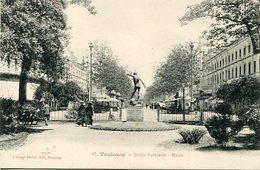 TOULOUSE - JARDIN LAFAYETTE - MOISE. FRANCE POSTALE CPA CIRCA 1900's NON CIRCULE- LILHU - Toulouse