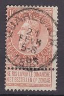 N° 57 QUAREGNON - 1893-1900 Fine Barbe