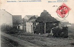 CPA Belgique Namur Jemeppe Sur Sambre Saint Martin Ruines De La Primitive école - Jemeppe-sur-Sambre