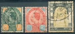 Siam - 1904 - 1906 - Yt 36 - 43 - 56 - Oblitérés - Siam