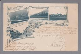 AK Slowenien Rann (Brezice) 1898-05-26 Foto Weiss & Dreikurs - Slovénie