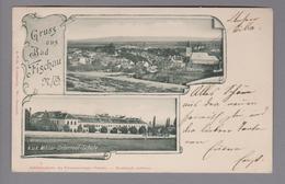 AK AT Niederösterreich Bad Fischau 1899-??-16 Foto A.Folk - Autriche