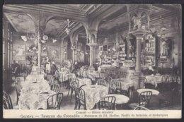 Genéve - Taverne Du Crocodile -   Belebt – Animée - 1913 - GE Genf