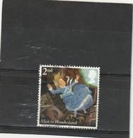 Grande Bretagne Oblitéré  1994  N° 1741   Alice Au Pays Des Merveilles - Used Stamps