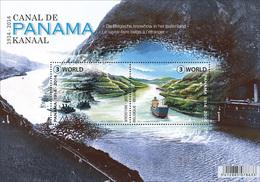 Blok 217** 100 Jaar Panamakanaal 4425/26** - Centenaire Du Canal De Panama - Blocs 1962-....