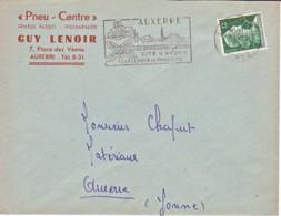 FRANCE : 1958 - Lettre Commerciale - Auxerre - France