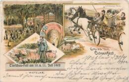 Deutschland - Wetzlar - Gruss Vom Ochsenfest - 1902 - Litho. - Wetzlar