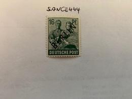 Germany Berlin  Black  Overp. 16p  Mnh 1948 - Berlin (West)