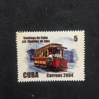 CUBA. TRANVÍA. MNH D1707C - Tranvías