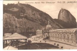 POSTAL  RIO DE JANEIRO - BRASIL  -  CAMINHO AEREO PAO D'ASSUCAR - Rio De Janeiro