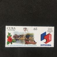 CUBA. EXPOCUBA. MNH D1707D - Barcos