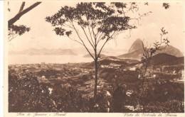 POSTAL  RIO DE JANEIRO - BRASIL  -  VISTA DA ENTRADA DA BARRA - Rio De Janeiro