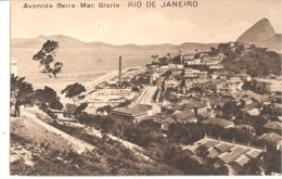 POSTAL  RIO DE JANEIRO - BRASIL  -  AVENIDA BEIRA-MAR, GLORIA - Rio De Janeiro