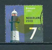 2010 Netherlands 7,00 EURO Vuurtoren,leuchtturme,lighthouse Used/gebruikt/oblitere - Periode 1980-... (Beatrix)