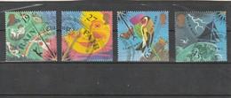 Grande Bretagne Oblitéré  2001  N° 2240/2243   Le Temps - Used Stamps
