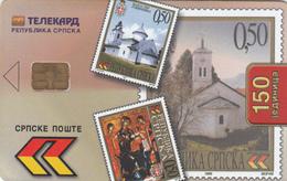 BOSNIA - Republica Srpska Telecard, Stamps, Sample No CN - Bosnië