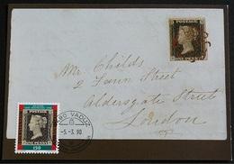 LIECHTENSTEIN 1990, 150 Years Stamps  Mi. 926 Serie Cpl. 1v. Su Cartoline Maximum - Cartoline Maximum