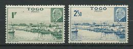 TOGO 1941 . N°s 215 Et 216 . Neufs ** (MNH) - Neufs