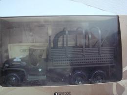 Char 1/43 Collections Atlas Avec Certificat D'autenticité Gmc Cckw 353 De Dépannage - Vehicles