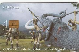 CUBA - Prehistoric Valley 2,  Tirage 30.000, 04/00, Used - Cuba