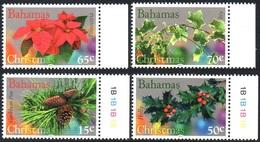 BAHAMAS 1553/56 Flore Noël - Végétaux