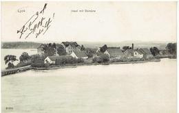 LYCK - Ełk - Ełcki - Insel Mit Domäne - ZUG 608 Königsberg- Prosten 1911 - Ostpreussen