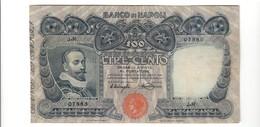 100 Lire Banco Di Napoli 23 02 1911  Naturale Bel Bb  LOTTO 2381.3 - [ 1] …-1946 : Kingdom