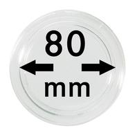 Lindner S22708000 Münzkapsel Innendurchmesser 80 Mm, 1 Stück, Innenhöhe 5,7 Mm - Supplies And Equipment