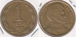 Cile 1 Peso 1978 KM#208a - Used - Cile